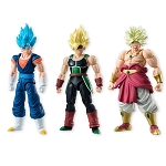 Bandai Shokugan Dragon Ball Shodo 5 SSGSS Vegeto, Super Saiyan Bardock, and Broly (shouting ver.) (Set of 3)