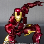 Bandai S.H.Figuarts Iron Man Mark IV and Hall Of Armor Set