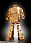 Bandai Soul Of Chogokin GX-32R Gold Lightan 24-Karat Gold Plating Ver.