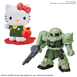 Hello/Kitty Zaku II [SD Gundam Cross Silhouette]