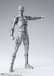 Body Kun -Wireframe-(Gray Color Ver.)
