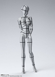 Body Chan -Wireframe-(Gray Color Ver.)
