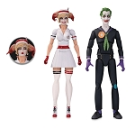 DC DESIGNER SERIES BOMBSHELLS NURSE HARLEY & JOKER ACTION FIGURE 2 PACK