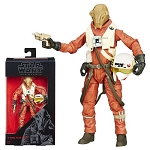 Star Wars The Black Series EP7 X-Wing Pilot Asty 6-Inch Action Figure