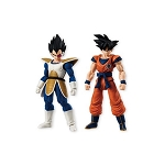 Bandai Shokugan Dragon Ball Shodo 4 Goku and Vegeta  (Set of 2)