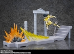 Bandai D.D.Panoramation Glittering Excalibur in the Palace of the Rock Goat -Capricorn Shura-