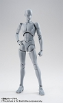 Bandai S.H.Figuarts Body-kun -Takarai Rihito- Edition DX SET (Gray Color Ver.),