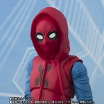 Bandai S.H.Figuarts Spider-Man (Home Made Suit Ver.) & Tamashii Option Act Wall