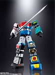 Six God Godmars: GX-40R Rokushin Gattai God Mars Soul of Chogokin Figure