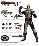 Mezco X-Force Deadpool One:12 Collective Previews Exclusive Action Figure