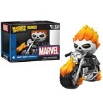 DORBZ RIDEZ 027: MARVEL - GHOST RIDER WITH MOTORCYCLE
