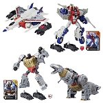 Transformers Generations Power of the Primes Voyager Wave 1 Set (Starscream and Grimlock)