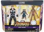 THOR, ROCKET and GROOT (3-Pack) - Marvel Legends Toys R Us Exclusive