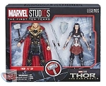 THOR and SIF (2 Pack) - Marvel Legends MCU 10th Anniversary 6-Inch AF