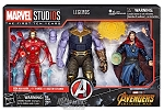 IRON MAN, DR. STRANGE and THANOS (3-PACK) - Marvel Legends MCU 10th Anniversary 6-Inch AF