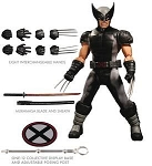 Mezco X-Force Wolverine One:12 Collective Previews Exclusive Action Figure