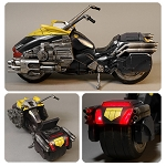 Judge Dredd 1:12 Scale Lawmaster Motorcycle Vehicle