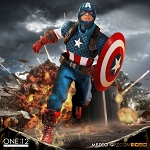 Mezco Toyz One:12 Collective Captain America Action Figure