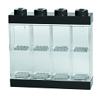 LEGO MINIFIGURE DISPLAY CASE 8 BLACK
