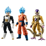 Bandai Shokugan Dragon Ball Shodo 2 (Set of 3)