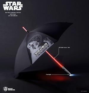 "Anakin Lightsaber Umbrella ""Star Wars"", Beast Kingdom"