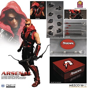 One:12 Collective Arsenal 1:12 Scale Action Figure - Previews Exclusive