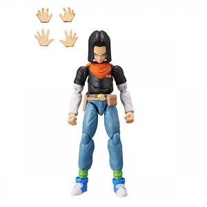 Android 17 Dragon Ball Stars Action Figure