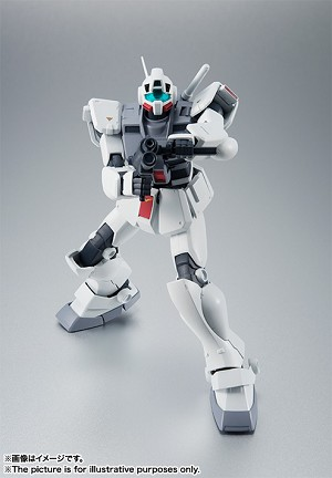 "Bandai Robot Spirits RGM-79D GM Cold Districts Type Ver. A.N.I.M.E. ""Mobile Suit Gundam"""