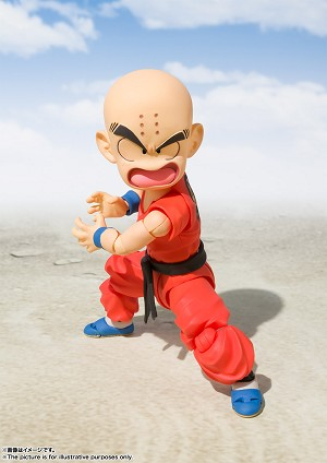 "Bandai S.H. Figuarts Kid Krillin  ""Dragon Ball"""