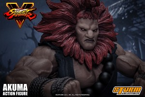 "Storm Collectibles 1/12 Action Figure Akuma ""Street Fighter V"""