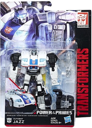 Transformers Generations Power of the Primes Deluxe Autobot Jazz