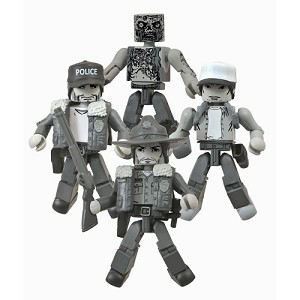 SDCC 2014 WALKING DEAD MINIMATES BOX SET