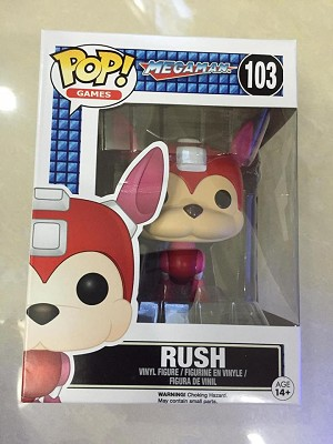 Mega Man Rush Pop! Vinyl Figure (Damage Box)