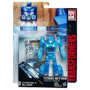 Transformers Generations Titans Return Deluxe Hyperfire and Blurr