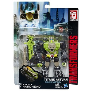 Transformers Generations Titans Return Deluxe Furos and Hardhead