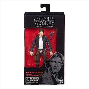 Star Wars The Black Series Han Solo (Bespin) 6-Inch Action Figure