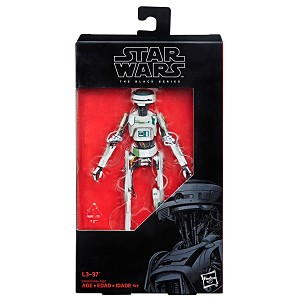 Star Wars The Black Series L3-37 6-Inch Action Figure
