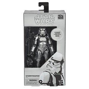 CARBONIZED STORMTROOPER Star Wars The Black Series 6-inch Action Figure