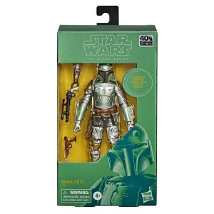 CARBONIZED BOBA FETT Star Wars The Black Series 6-inch Action Figure