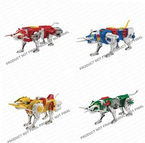 PLAYMATES VOLTRON CLASSIC LION FIG ASST (SET OF 4)