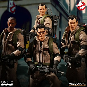 Mezco One:12 Collective Ghostbusters Deluxe Box Set