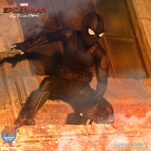 SPIDER-MAN STEALTH SUIT Mezco One:12 Collective Previews Exclusive