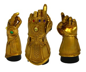 SDCC 2019 MARVEL INFINITY GAUNTLET SNAP PX DESK MONUMENT
