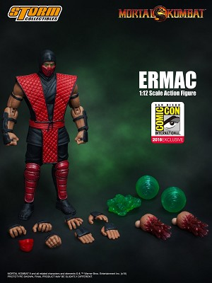 "Storm Collectibles SDCC 2018 Exclusive Ermac ""Mortal Kombat"" 1/12 Action Figure"