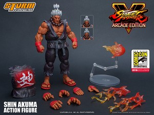 Storm Collectibles SDCC 2018 Exclusive Shin Akuma 1/12 Action Figure