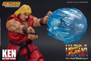 "Ken ""Ultra Street Fighter II: The Final Challengers"", Storm Collectibles 1/12 Action Figure"