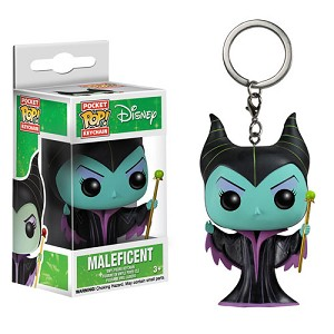 Sleeping Beauty Classic Maleficent Pop! Vinyl Figure Key Chain